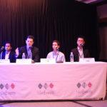 Debate Panellists Neeraj Khandelwal - Barracuda, Doug Schultz - FireEye, Craig Skinner - Ovum, Nelson Soon-Ixia