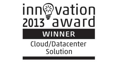 Innovation Awards 2013 Cloud/Datacenter Solution Logo