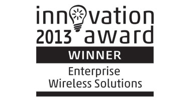 Innovation Awards 2013 Enterprise Wireless Solution Logo