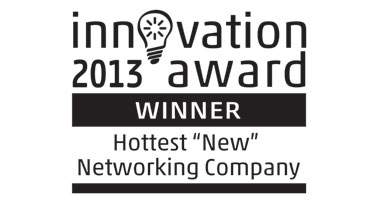 Innovation Awards 2013 Hottest 'NEW' Networking Company Logo