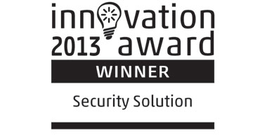 Innovation Awards 2013 Security Solution Logo