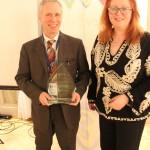 Award Presented by Camille Mendler - Ennio Carraro - Dell Boomi