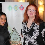 Award Presented by Camille Mendler - Samantha Singh - Symphony Communications