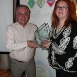 Award Presented by Ian Keene Gartner - Camille Mendler - Enterprise Services, Ovum on behalf of Sonus Networks