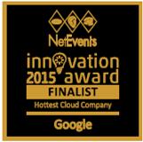 Hottest Cloud Company Finalist - Google