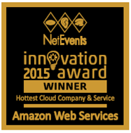 Hottest Cloud Company and Service Winner - AWS