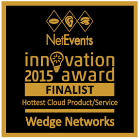 Hottest Cloud Product Service Finalist - Wedge Networks