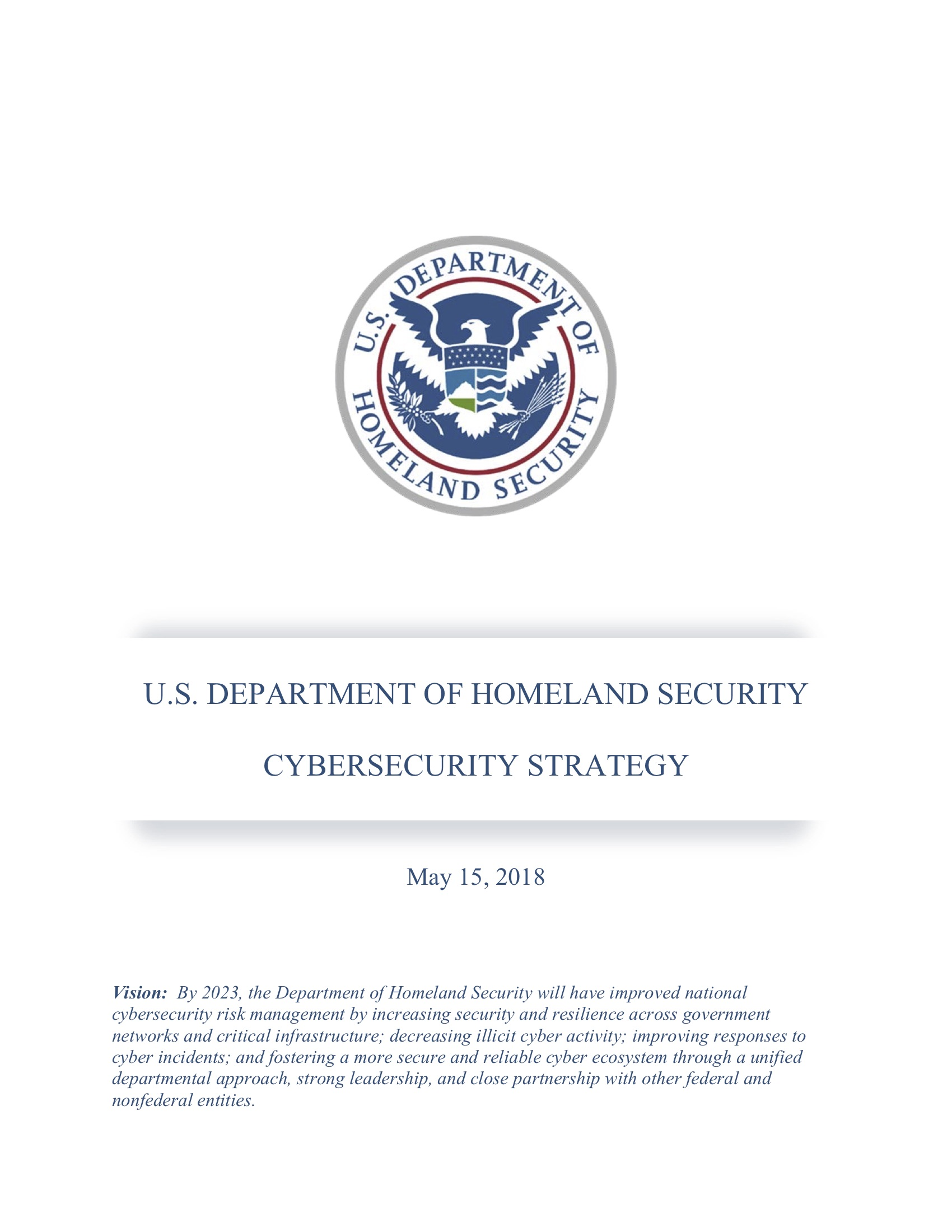 Words Of Cybersecurity Wisdom From The Us Department Of Homeland