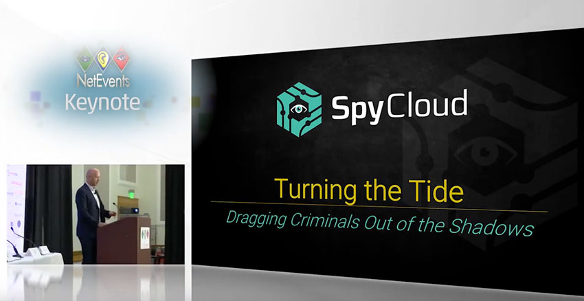 Turning the Tide: Dragging Criminals Out of the Shadows - Keynote presentation by Ted Ross, CEO & Co-Founder, SpyCloud